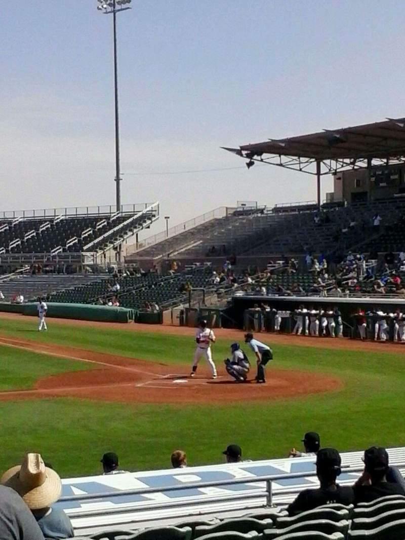 Seating view for HoHoKam Stadium