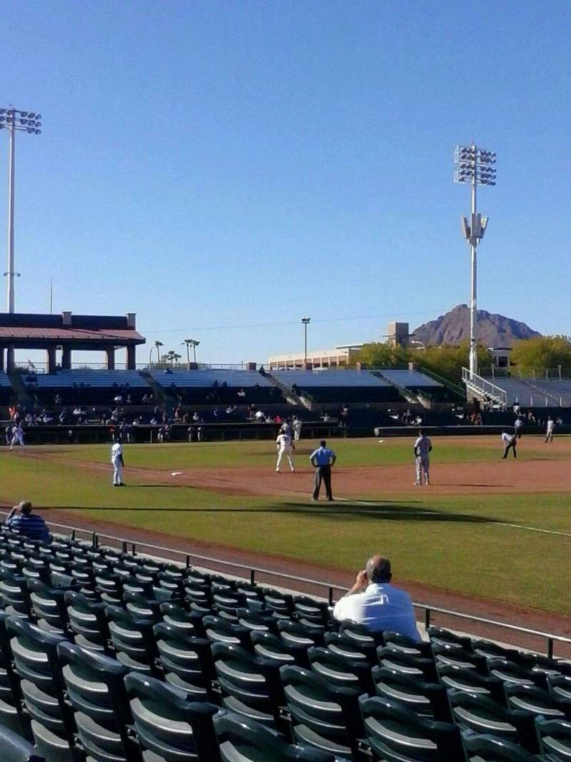 Seating view for Scottsdale Stadium Section 128