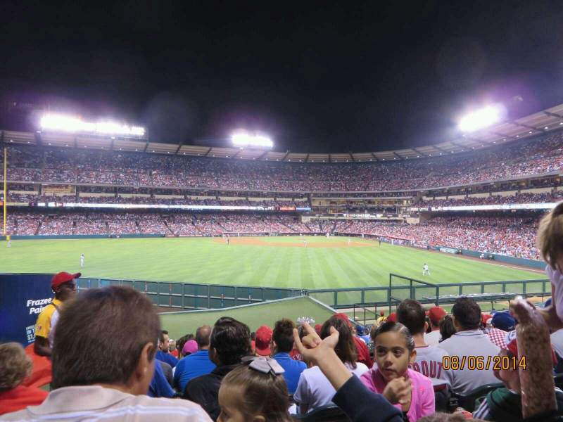 Seating view for Angel Stadium Section 257 Row Z Seat 1