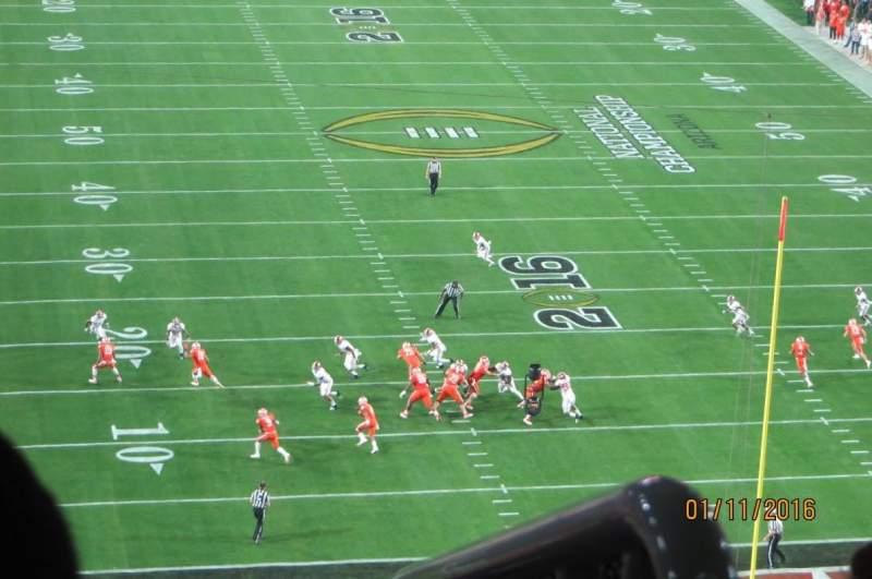 University of Phoenix Stadium, section: 430, row: 4, seat: 10