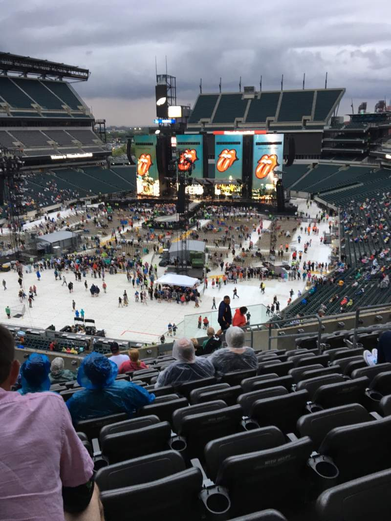 Seating view for Lincoln Financial Field Section M13 Row 19 Seat 8
