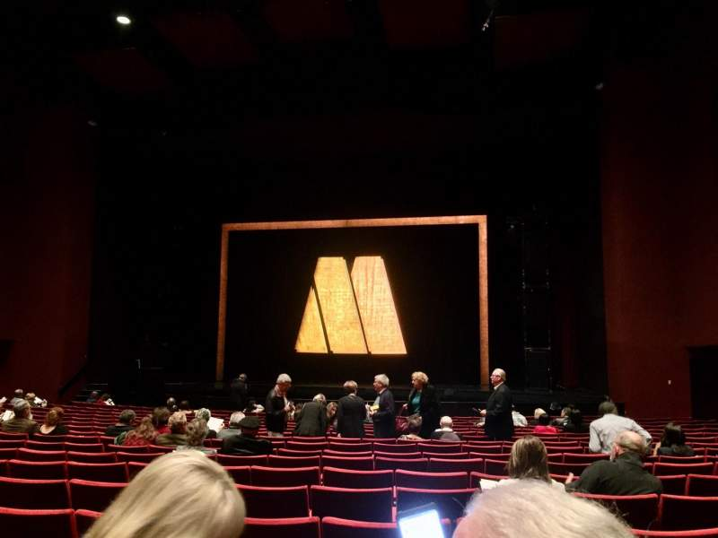 Seating view for San Diego Civic Theatre Section Orchestra 2 Row M Seat 22