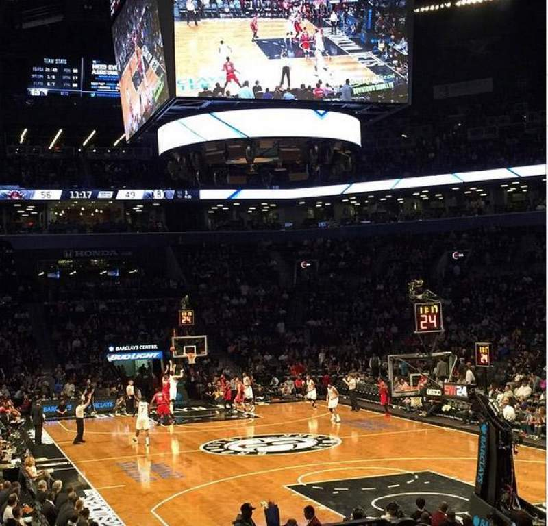 Seating view for Barclays Center Section 1 Row 15 Seat 20