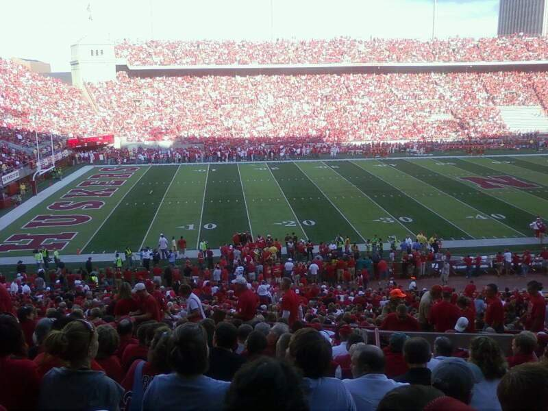 Seating view for Memorial Stadium Section 30