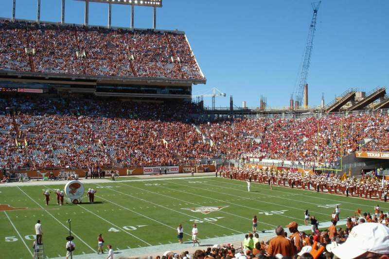 Seating view for Texas Memorial Stadium Section 29