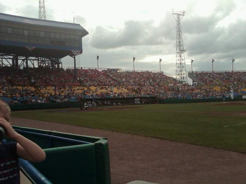 Seating view for Rosenblatt Stadium Section 15 Row A Seat 1