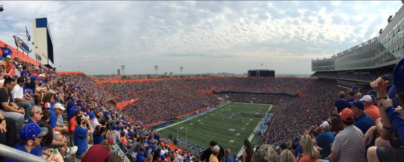 Seating view for Ben Hill Griffin Stadium Section 320 Row 29 Seat 5