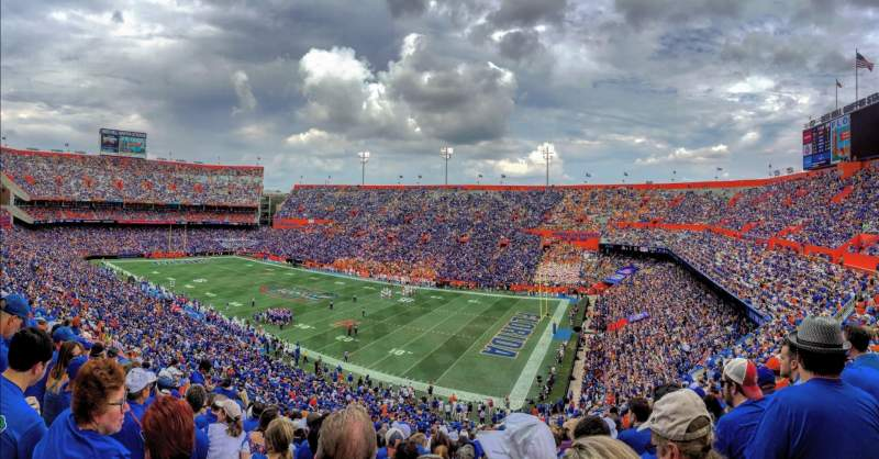 Seating view for Ben Hill Griffin Stadium Section 1 Row 73 Seat 29