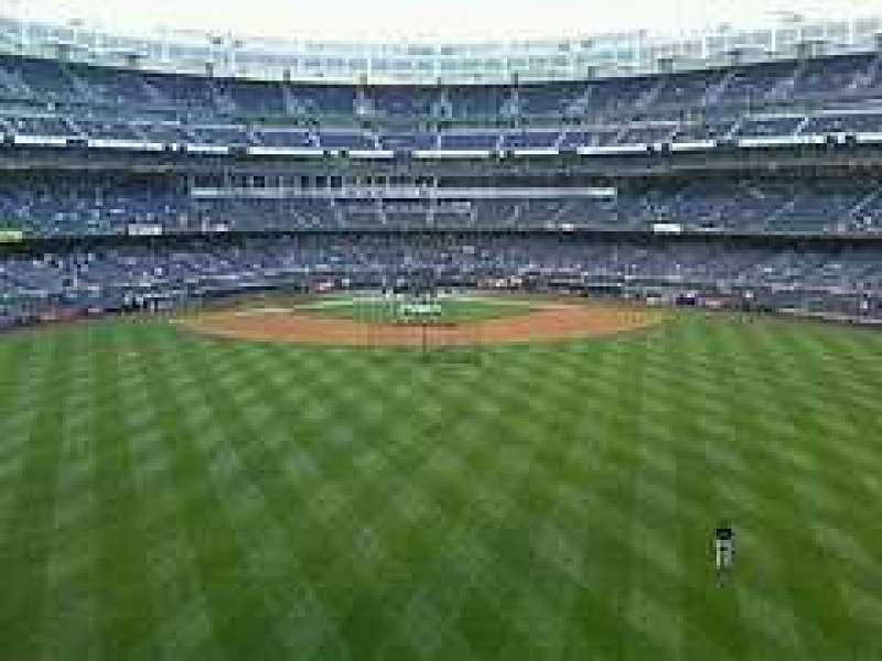 Seating view for Yankee Stadium Section Center Field