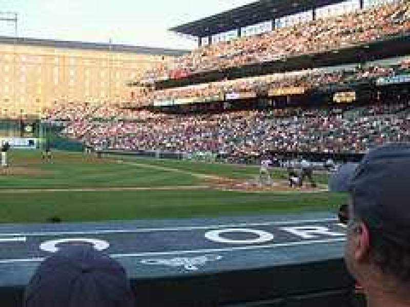 Seating view for Oriole Park at Camden Yards Section 50 Row CC Seat 8