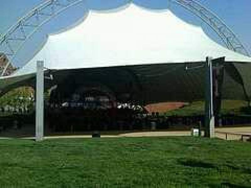 Seating view for Sprint Pavilion Section Lawn