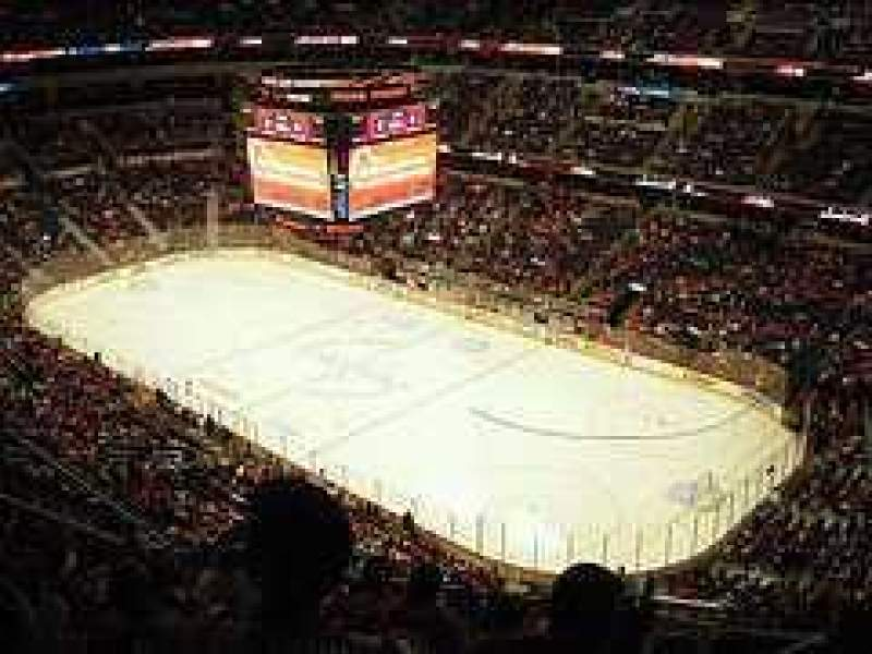 Seating view for Verizon Center Section 421 Row N