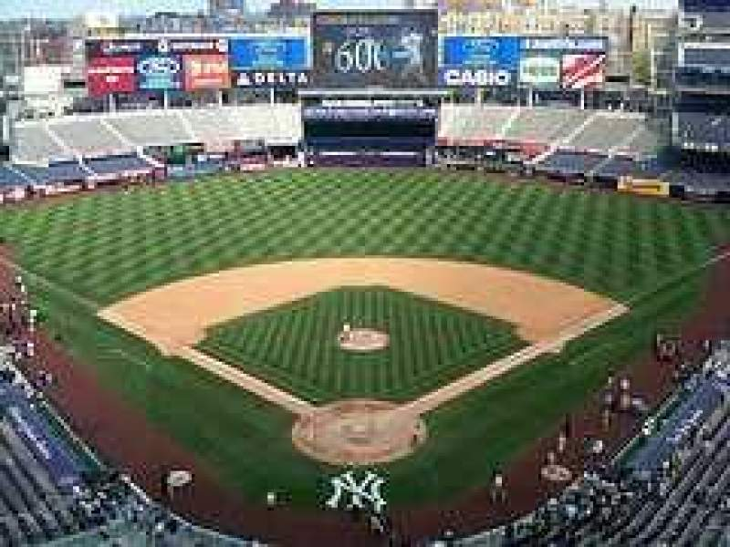 Seating view for Yankee Stadium Section Upper Deck