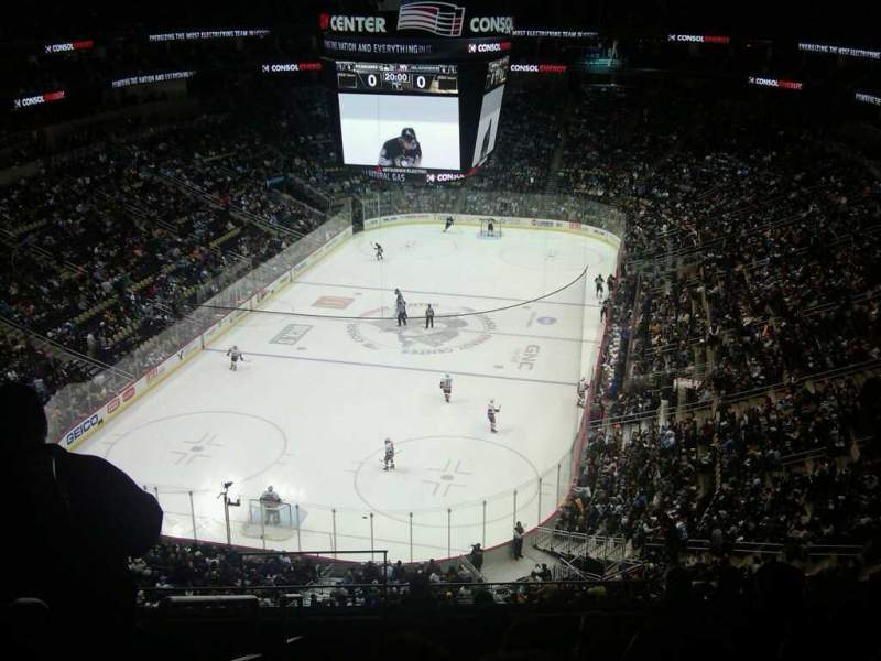 Seating view for PPG Paints Arena Section 208 Row G Seat 17