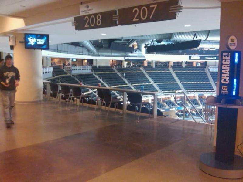 Seating view for PPG Paints Arena Section 207