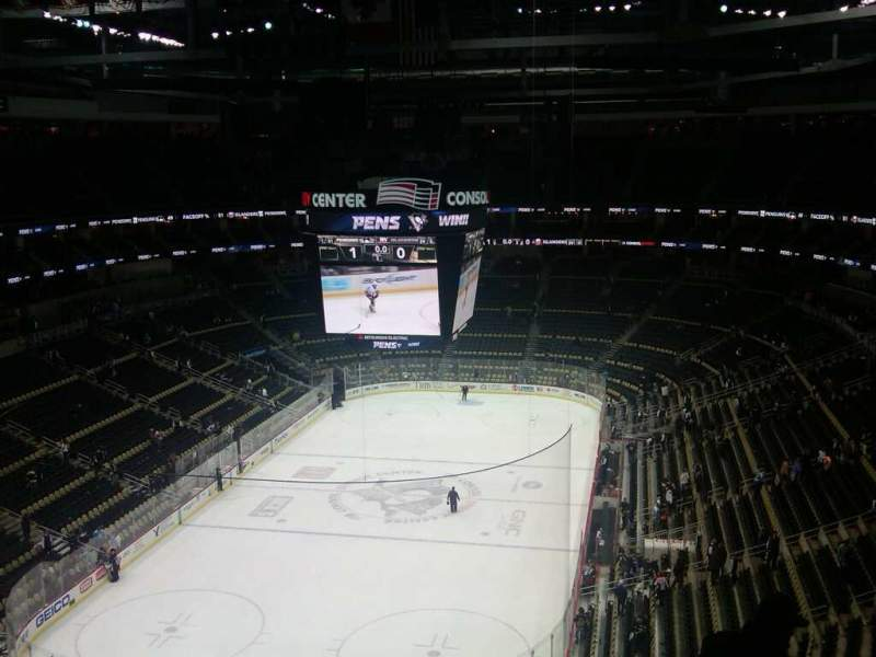 Seating view for PPG Paints Arena