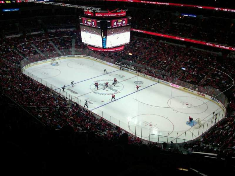 Seating view for Capital One Arena Section 421 Row N