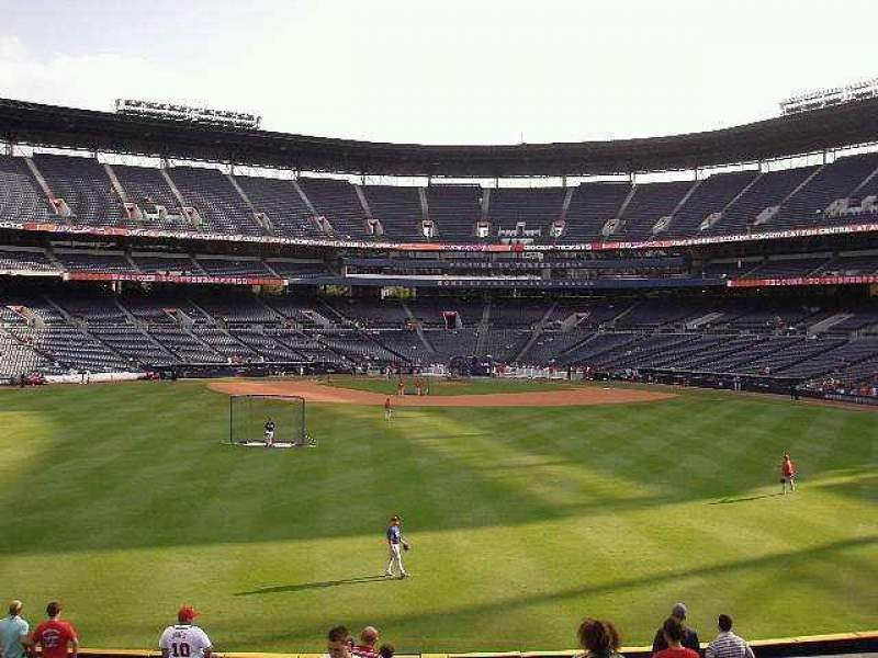 Seating view for Turner Field Section Center Field
