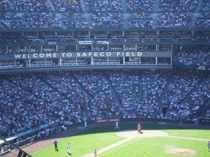 Seating view for T-Mobile Park Section Upper Deck
