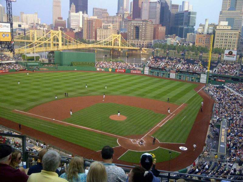 Seating view for PNC Park Section Grandstand