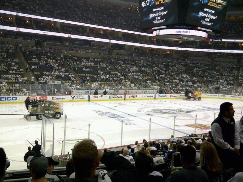 Seating view for PPG Paints Arena Section 115