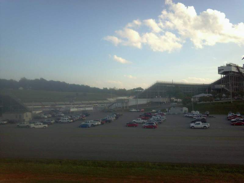 Seating view for Martinsville Speedway Section Turn Four