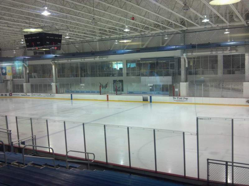 Seating view for Kettler Capitals Iceplex Section ga