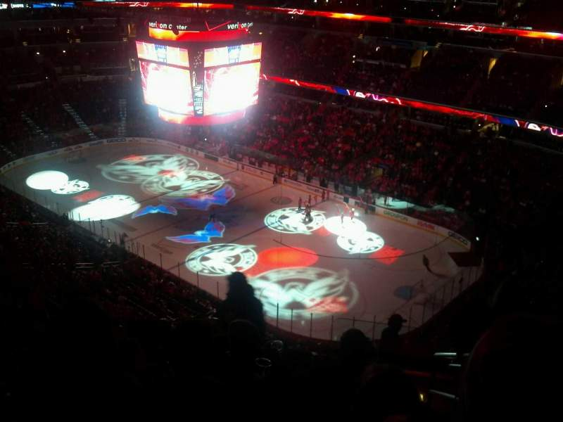 Capital One Arena, section: 421, row: N, seat: 21