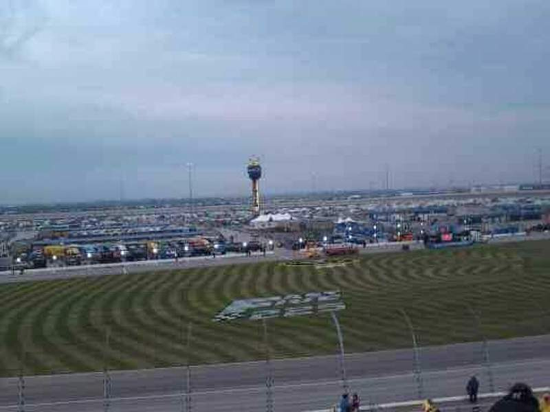 Seating view for Chicagoland Speedway Section 103 Row 30