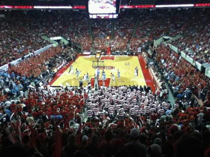 Seating view for PNC Arena Section 111 Row YY Seat 10