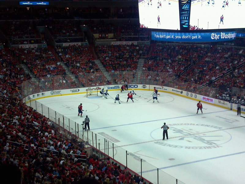 Seating view for Verizon Center Section 219
