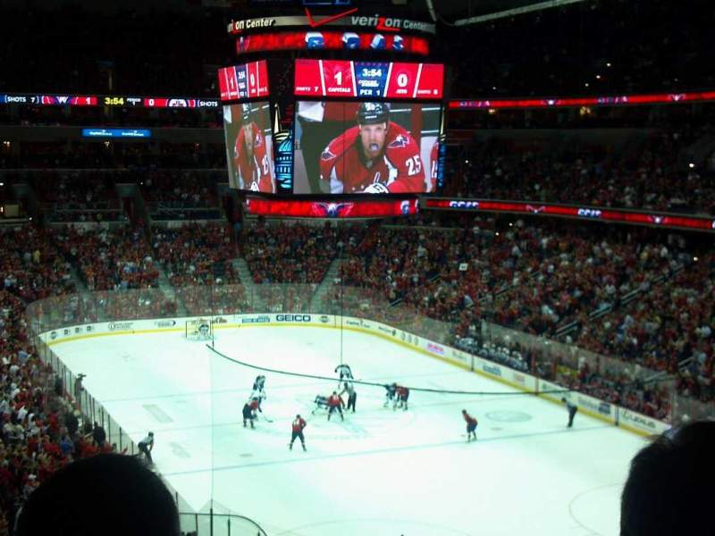 Seating view for Verizon Center Section Acela Club