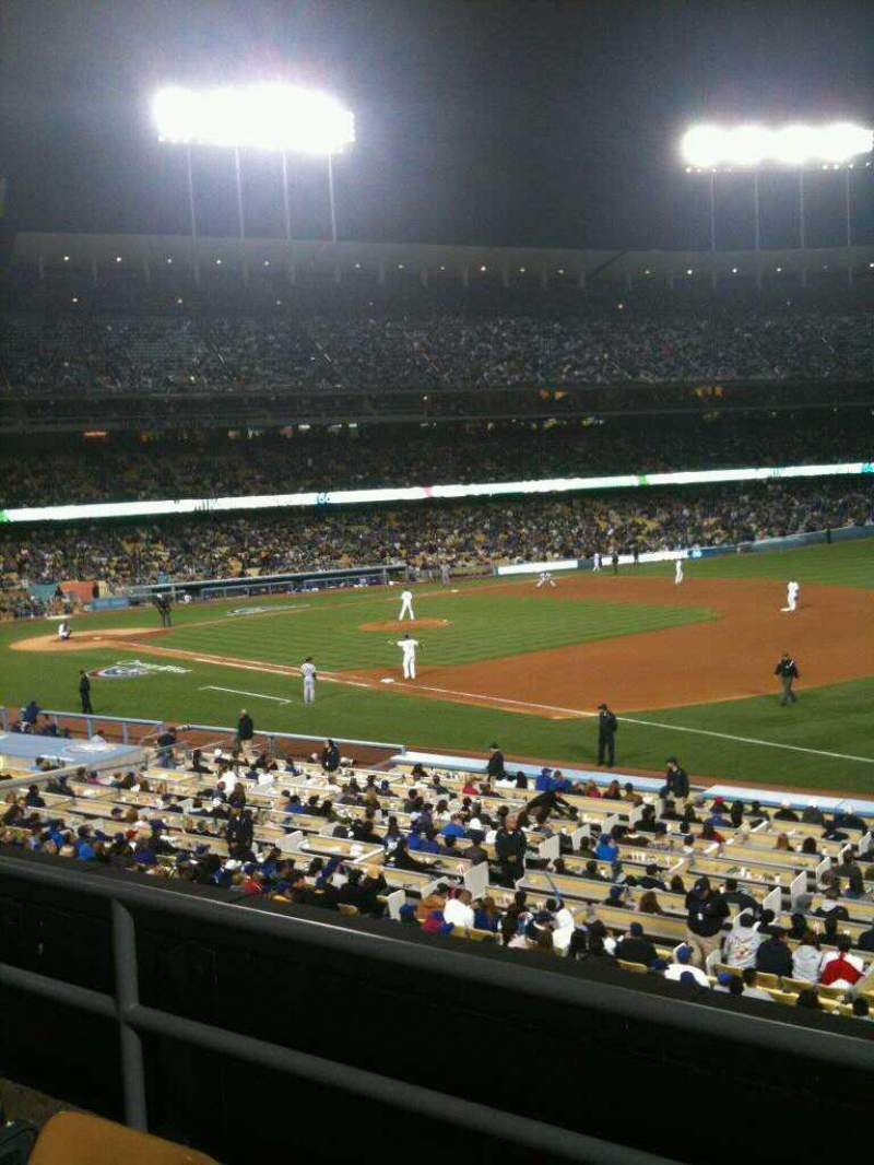Seating view for Dodger Stadium Section 150LG Row C Seat 2