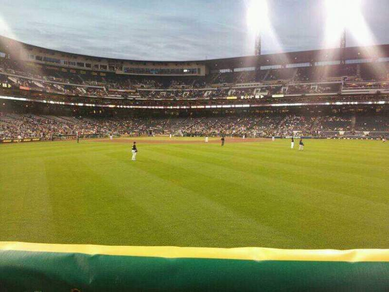 Seating view for PNC Park Section 136 Row A Seat 5