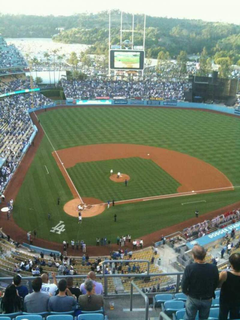 Seating view for Dodger Stadium Section 6TD Row J Seat 22