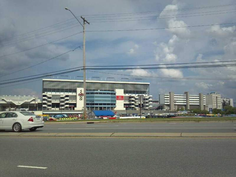 Charlotte motor speedway section entrance Charlotte motor speedway hotels nearby
