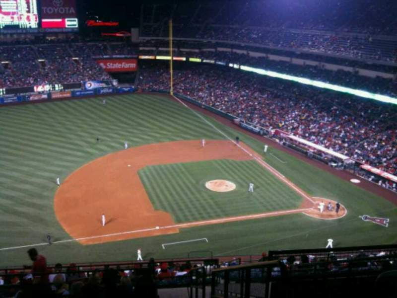 Seating view for Angel Stadium Section V512 Row K Seat 25