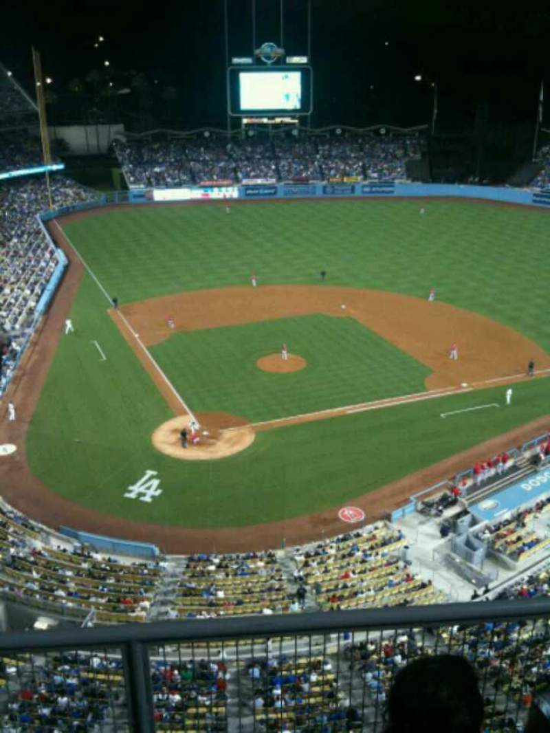 Seating view for Dodger Stadium Section 6TD Row C Seat 14