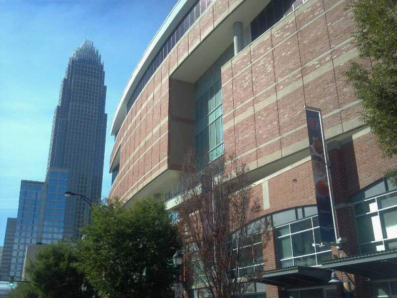 Seating view for Spectrum Center Section Street View