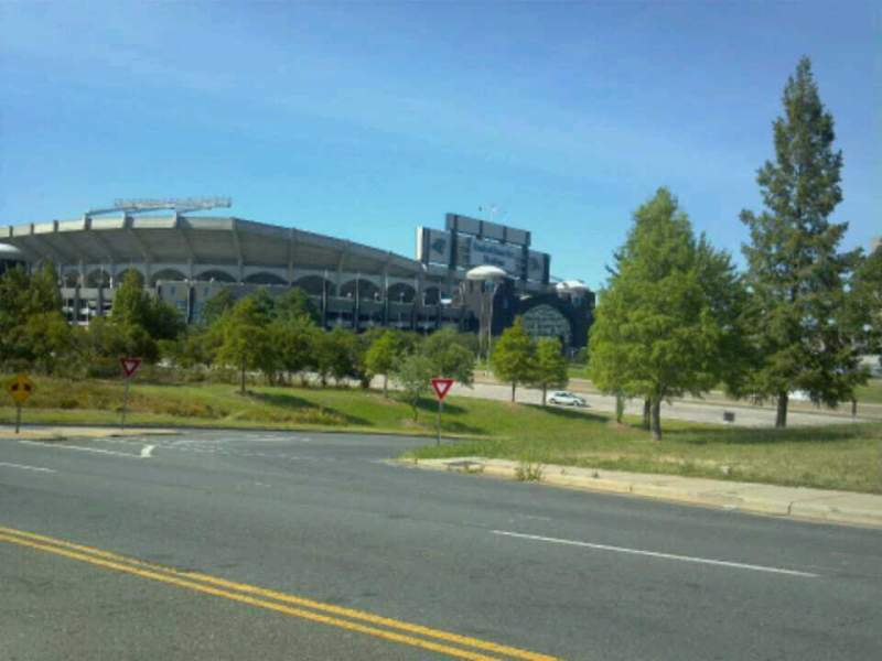 Seating view for Bank of America Stadium Section Street View