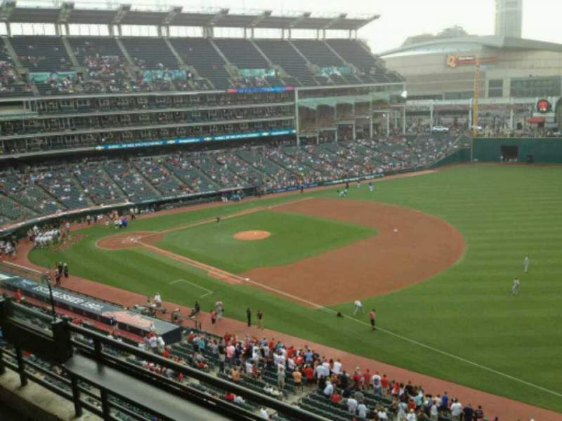 Seating view for Progressive Field Section Suite 312