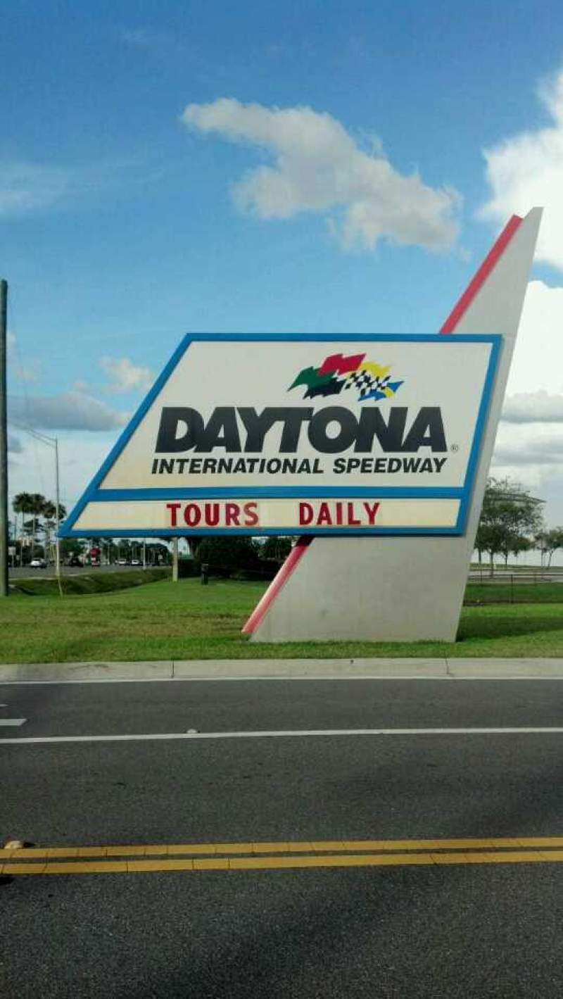 Seating view for Daytona International Speedway Section Entrance