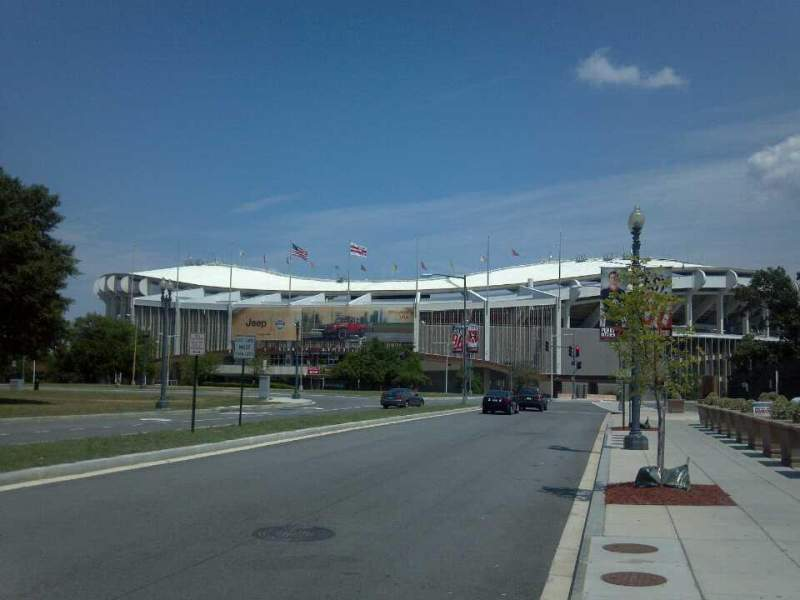 Seating view for RFK Stadium Section Outside