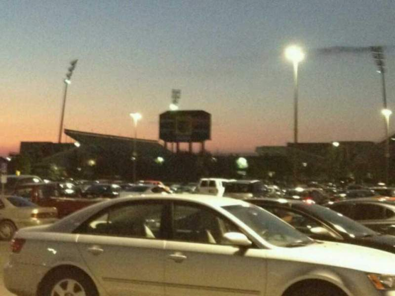 Seating view for Mapfre Stadium Section Parking Lot