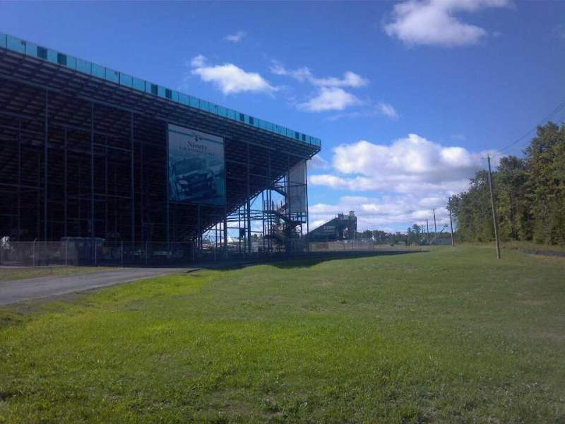 Seating view for Watkins Glen International