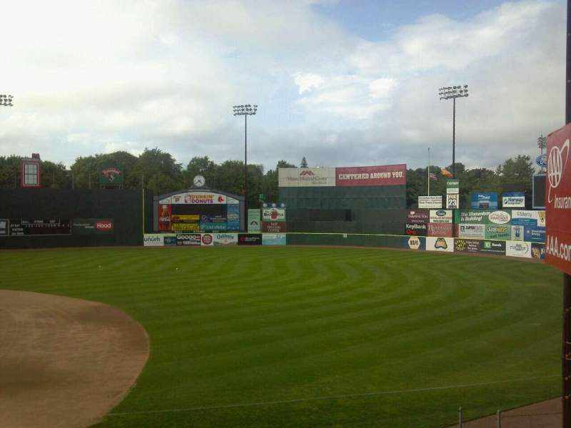Seating view for Hadlock Field Section Staff Steps