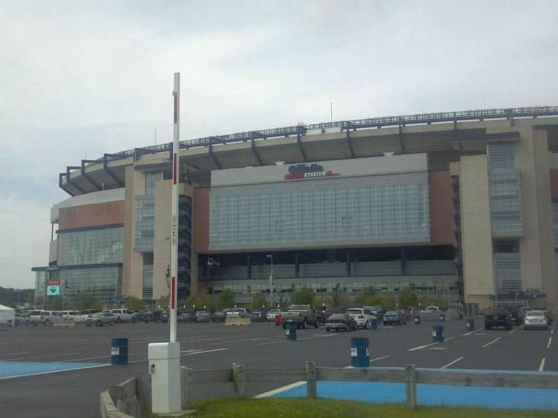 Seating view for Gillette Stadium Section Street
