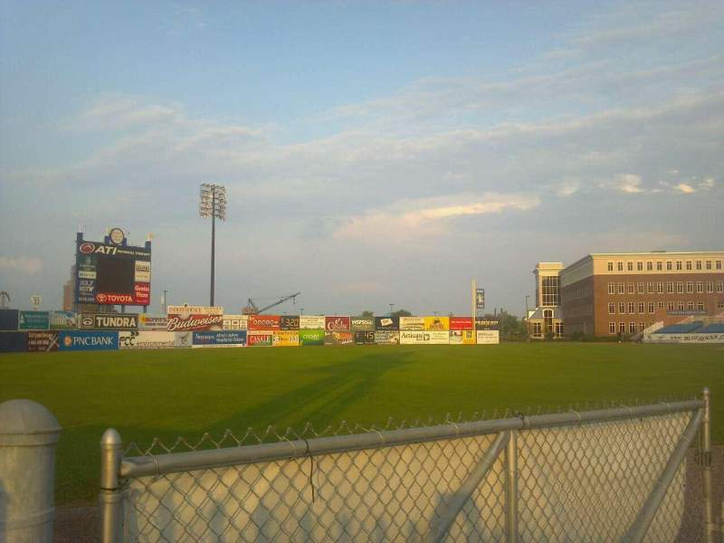 Seating view for Frawley Stadium Section Left Field Fence