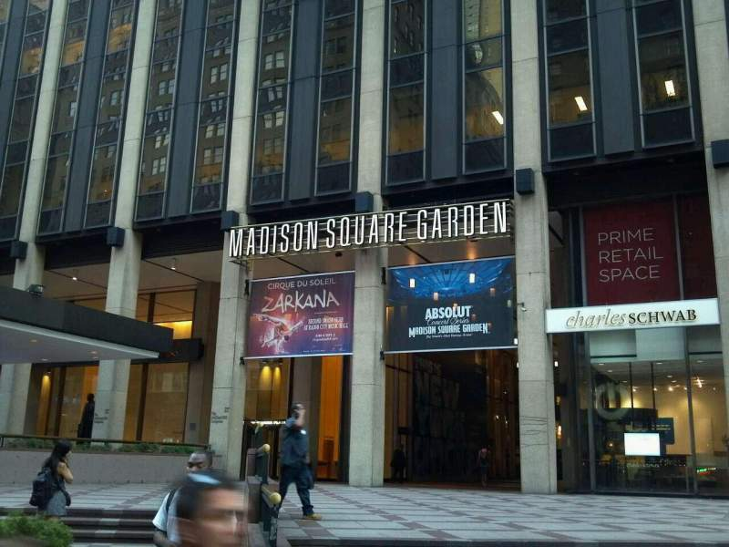Seating view for Madison Square Garden Section Main Entrance