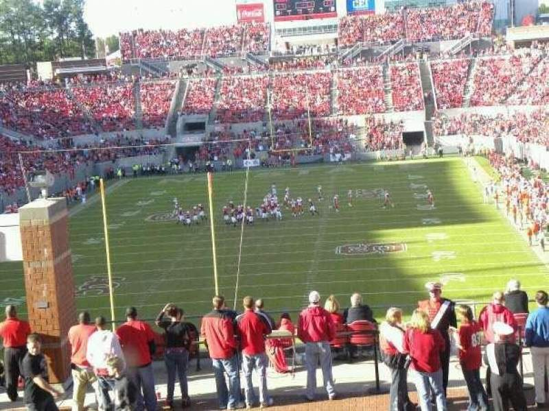 Seating view for Carter-Finley Stadium
